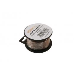 Draad 1mm2 bruin PVC - mini haspel 6 meter