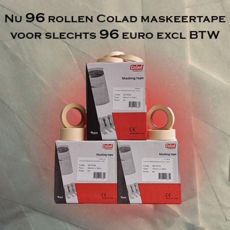 Maskeertape Superdeal / 96 rollen Colad Premium tape