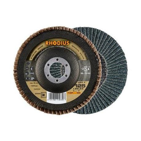 Lamellenschijf 125mm, korrel 40 Rhodius
