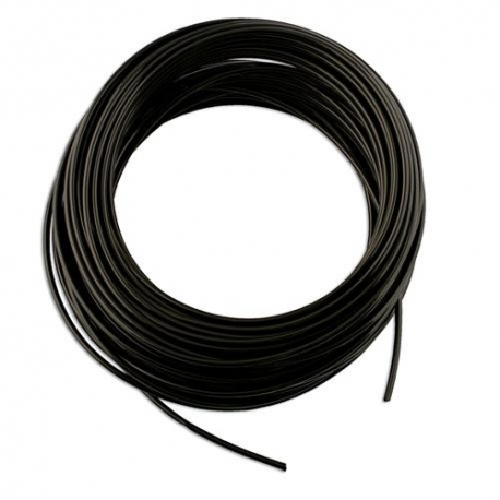 Brandstofslang rubber 6.0 mm  - 1 meter
