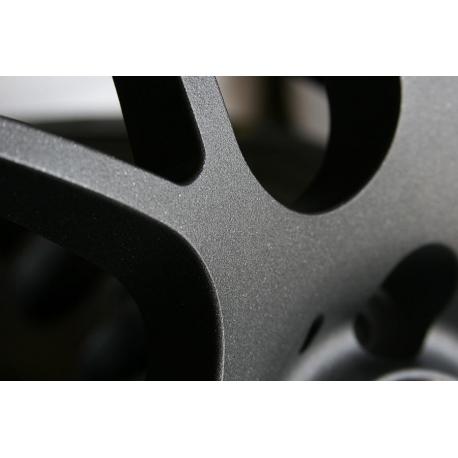 Zwart texture fijn RAL 9005 - 500 gram Poedercoat poeder