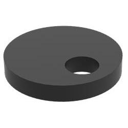 Aanslag excentrisch Ø 100 mm tbv Lastafel Weldkar