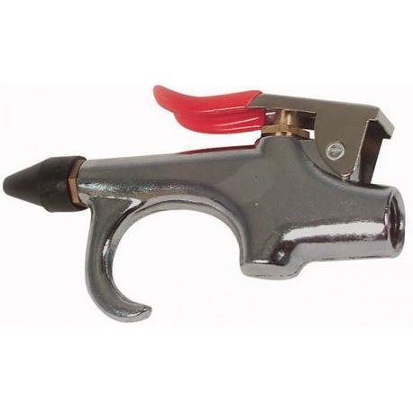 Blaaspistool met rubber tuit
