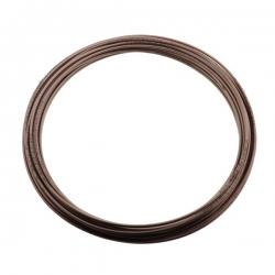 Remleiding Cupro/Nickel 3/16 inch - 25 meter (cunifer)