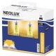 H4 Koplamen geel - 2 stuks Neolux 12v - 60/55w - P43t