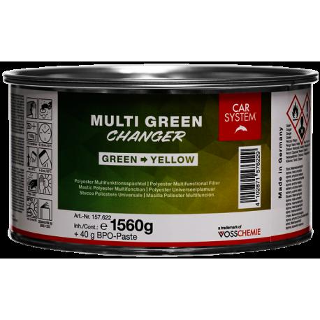 Multi Green CHANGER - Car System - universele polyester plamuur 1,6 kg
