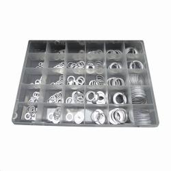 Assortiment Aluminium ringen 300 delig